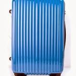กระเป๋าเดินทางแฟชั่น INANNA สี ฟ้า ล้อลาก 24 นิ้ว น้ำหนักเบา