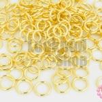 ห่วงทำสร้อย สีทอง 7มิล (20g/168ชิ้น)