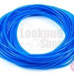 สายยางพลาสติก สีน้ำเงินใส 3มิล 10หลา(1เส้น)