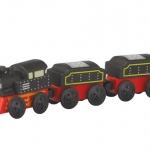 ของเล่นไม้ ของเล่นเด็ก ของเล่นเสริมพัฒนาการ Classic Train รถไฟคลาสสิค (ส่งฟรี)