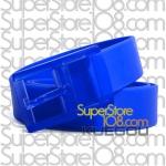 เข็มขัดซิลิโคน Candy Color Belt : สีน้ำเงิน