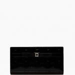 กระเป๋าสตางค์  Kate Spade รุ่น CAMELLIA STREER STACY BLACK  WLRU1775