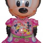 Minnie Mouse Walking Balloons - มินนี่เมาส์บอลลูน สีชมพู / Item No. TL-K003