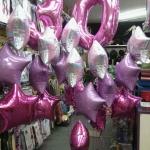 ลูกโป่งฟลอย์รูปดาว สีชมพูมุก ไซส์ 18 นิ้ว - Star Shape Foil Balloon Pearl Pink Color/Item No.TL-G006