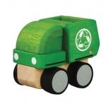 ของเล่นไม้ ของเล่นเด็ก ของเล่นเสริมพัฒนาการ Mini Garbage Truck (ส่งฟรี)