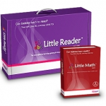 โปรแกรมเสริมสร้างพัฒนาการเด็ก Little Reader Deluxe + Little Math Basic ชุดสุดคุ้ม 3 (ส่งฟรี EMS)