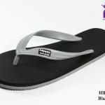 รองเท้าแตะ Hippo Bloo ฮิปโป บลู สีเทาดำ เบอร์ 9,9.5,10,10.5,11,12,13 สำเนา