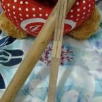 กีต้าร์ปาก ทำจากไม้ไผ่พร้อมกระบอกเก็บ