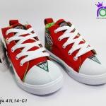 รองเท้า แอ๊ดด้า ผ้าใบเด็ก ADDA รุ่น 41L14-C1 สีแดง เบอร์ 26-30