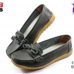 รองเท้าแฟชั่นหุ้มส้น CSB ซีเอสบี รุ่น BX92-513 สีดำ เบอร์ 36-40