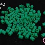 เม็ดบีทรีดร้อน สีเขียวเข้ม 5 มิล (1ขีด/100กรัม)