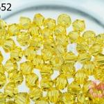 คริสตัลสวารอฟสกี้ (SWAROVSKI) สีเหลืองทอง(226) 4มิล(100เม็ด)