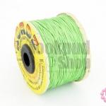 เชือกคอตต้อน สีเขียว 0.5 มิล (1ม้วน)
