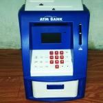ตู้ ATM ออมสิน สีขาวน้ำเงิน มาใหม่ (ซื้อ 3 ชิ้น ราคาส่ง 500 บาท ต่อชิ้น)