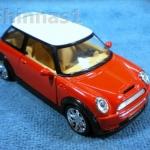 Model Car Austin Mini Cooper S สีแดง-ขาว
