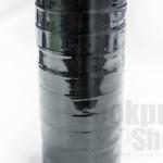 ริบบิ้นผ้าซาติน สีดำ 19มิล(10ม้วน)
