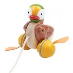 ของเล่นไม้ ของเล่นเด็ก ของเล่นเสริมพัฒนาการ Pull-Along Duck Pull-Along Duck เป็ดน้ำเพื่อนรัก (ส่งฟรี)