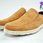 รองเท้าคัทชูชาย หนัง แฟชั่น Fashion รุ่น MM824 สีเหลือง เบอร์ 40-44