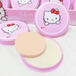 แป้งพัฟคิตตี้ Hello Kitty Pressed Powder ราคาปลีก 50 บาท / ราคาส่ง 40 บาท