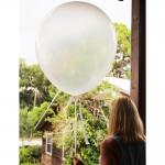 ลูกโป่งจัมโบ้ ไม่มีสี ขนาด 36 นิ้ว - Round Jumbo Balloon Clear Cystal