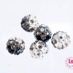 บอลเพชร เกรดดี 10 มิล ไล่สี สีดำ