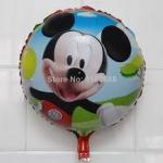 ลูกโป่งฟลอย์ลาย Mickey Mouse ทรงกลม (แพ็ค10ใบ) / Item No. TL-A064