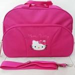 กระเป๋าเดินทางคิตตี้ ใบใหญ่ (มาใหม่) เหลือสีชมพูเข้ม (ซื้อ 3 ชิ้น ราคาส่ง 220 บาท ต่อชิ้น)