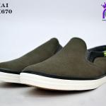 รองเท้าผ้าใบชายสปอร์ต Y.BOKAI รุ่นBOK-670 สีเทา เบอร์41-45