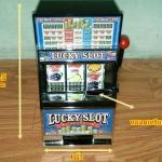 Lucky Slot ตู้สล็อตไซส์เล็ก (สินค้ามาใหม่ล่าสุด) (ซื้อ 3 ชิ้นราคาส่ง 600 บาท )