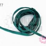 เชือกผ้า ไส้ไก่ สีเขียวแก่ (1เส้น/2เมตร)