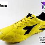สตั๊ด Diadora เดียดอร่า รุ่น Supream สีเหลืองดำ เบอร์ 39-44