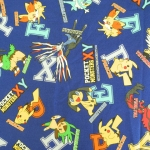 คอตตอนลินินญี่ปุ่น ลาย Pokemon ของแท้จาก เหมาะสำหรับงานผ้าทุกชนิด ตัด กระโปรง ทำกระเป๋า ปลอกหมอน และอื่นๆ