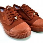 รองเท้าผ้าใบ Breaker เบรคเกอร์ สีน้ำตาล เบอร์ 37-42