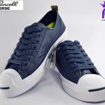 รองเท้าผ้าใบ CONVERSE JACK PURCELL JACK OX NAVY/WHITE เบอร์ 9
