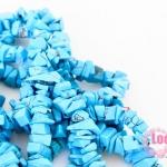 หินแตกเทอร์ควอตซ์ สีฟ้า 4 มิล(252เม็ด)