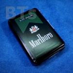 กล่องบุหรี่พร้อมไฟแช็ค แบบ ไฮเท็ค Marlboro Green