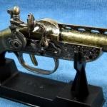 ปืนโบราณย่อส่วน แบบไฟแช็คตั้งโต๊ะ S-71 ราคา โรงเกลือ คลองถม บ้านหม้อ