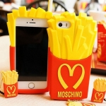 ** หมดค่ะ ** เคส iPhone 5/5S Moschino French Fries