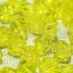คริสตัลพลาสติก สีเหลือง 8มิล (590เม็ด)