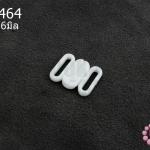 ตะขอเกี่ยว พลาสติก สีขาว 13X16มิล(1ชิ้น)