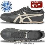 Onitsuka Tiger Mexico 66 - Dark Grey / Off-White ของแท้ มีกล่อง ป้ายครบ