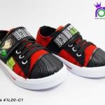 รองเท้า แอ๊ดด้า ผ้าใบเด็ก ADDA รุ่น 41L20-C1 สีดำแดง เบอร์ 26-30