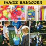 ต้อนรับสงกรานต์ ลูกโป่งน้ำ Magic Water Balloon เล่นพร้อมกันได้ทีละ 111 ลูก เพียง1นาที