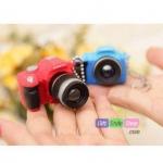 พวงกุญแจกล้อง DSLR Rock n Roll Mini Camera PA0120