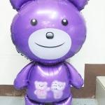 ลูกโป่งฟลอย์ ตุ๊กตาหมีน่ารักตัวใหญ่ - Cute Big Bear Foil Balloon / Item No. TL-B009