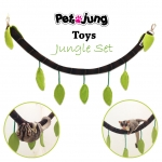 PJ-TOY002-JG-M PetsJunG - Toys Jungle Set ของเล่นเถาวัลย์ (M)