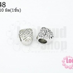 ตัวแต่งโรเดียม หัวใจLove 9X10มิล(1ชิ้น)