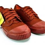 รองเท้าผ้าใบ GlodCity โกลซิตี้ สีน้ำตาล เบอร์ 37-42