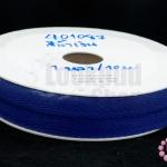 ริบบิ้นก้างปลา สีน้ำเงิน 10มิล(1หลา/90ซม.)