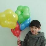 """ลูกโป่งดอกไม้ Flower Latex Balloon 12"""" คละสี แพ็คละ 10 ชิ้น สำเนา"""